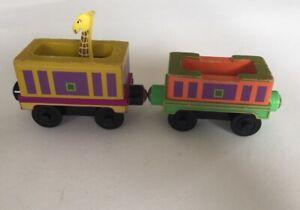 SAFARI CARGO CAR - Chugger Toy Chuggington Wooden Train Thomas & BRIO Compatible
