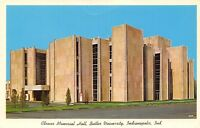 Indianapolis Indiana~Butler University~Clowes Memorial Hall~Performing Arts~1964