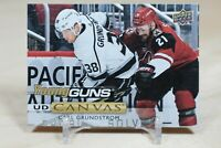 Carl Grundstrom Young Guns Canvas 2019-20 Upper Deck YG Canvas LA Kings