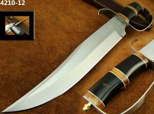 "ALISTAR 14""CUSTOM HANDMADE STAINLESS STEEL KNIFE D-GUARD BOWIE KNIFE TOP(4210-12"