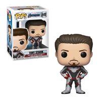 Funko Pop Tony Stark Quantum Suit Avengers Endgame Marvel Similar Model 10cm