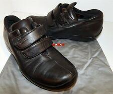 Prada Black Leather Velcro Sneakers 36 US sz 5.5 M