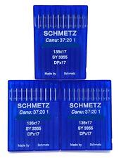 30 SCHMETZ  135X17 SIZE#18 / 110 SEWING MACHINE NEEDLES fits SAILRITE BIG-N-TALL