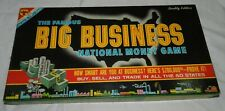 Vintage Big Business Board Game by Transogram copyright 1959