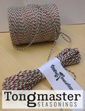 Red/White/Green Butchers/Bakers/Craft/Parcel String Twine - 300m Spool