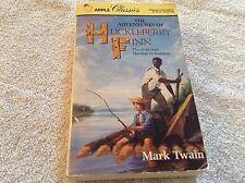Paperback book The Adventures of Huckleberry Finn