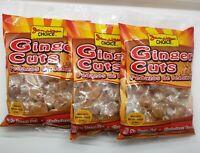 Jamaican Choice Ginger Cuts - 8 oz each ( 3 packs)