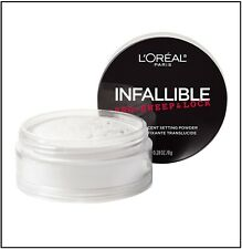 Loreal Infallible Pro-Sweep & Lock Translucent Setting Loose Face Powder 0.28oz