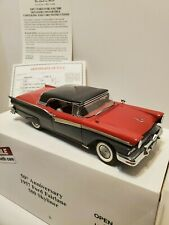 Danbury Mint 50th Anniversary 1957 Ford Fairlane 500 Skyliner with Papers, Box