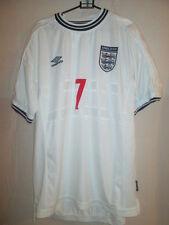 England Beckham 1999-2001 Home Football Shirt Size XL /5511