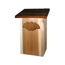 Bat House: 2 Chamber Cedar Wood Conservation Box -Large Bathouse Shelters Lots