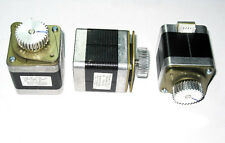 3 X Nema 17 Geared Stepper Motors for Extruder RepRap Makerbot Prusa Very Strong