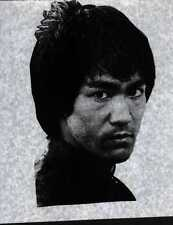 Bruce Lee Dragon Pose full size iron on tee shirt transfer vintage 70s item Nos