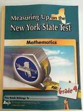 MEASURING UP ON THE NEW YORK STATE MATHEMATICS TEST level d grade 4 Workbook