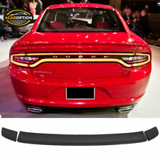 Fits 15-21 Dodge Charger Rallye Factory Style Trunk Spoiler Wing - ABS