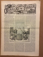 Rural New Yorker newspaper. Two Issues, June 2 & 9 1900.