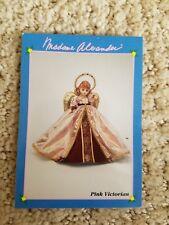 Madame Alexander Pink Victorian Tree Topper Info Card
