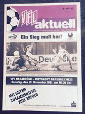 II. BL 91/92 VfL Osnabrück - Eintracht Braunschweig, 10.11.1991