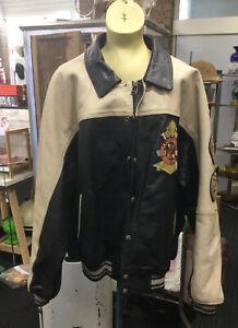 Avirex Leather Jacket Size XXL