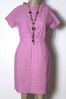 COS Kleid Gr. 34 rosa kurz/mini Kurzarm Sommer Kleid aus 100% Baumwolle