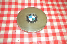 BMW metal hubcap, year unknown