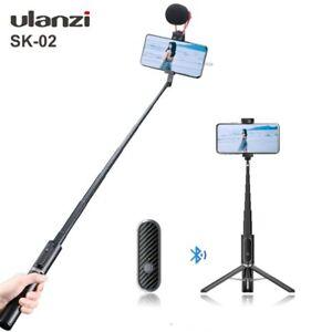 Wireless Bluetooth Selfie Cold Shoe Vlog Tripod Monopod for Youtube Live Selfie