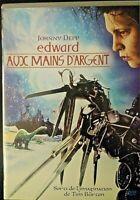 EDWARD aux MAINS d'ARGENT  / DVD /Film Tim Burton / johnny Depp Envoi Gratuit