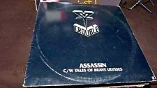 "Assassin Trouble (Rock) USA 12"" vinyl single record (Maxi) MBR1018 METAL BLADE"