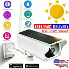 Waterproof Solar Security Surveillance Camera Wifi Wireless Ip 1080P Ip67 5Xzoom
