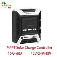 MPPT Solar Charge Controller 10A-60A Solarladeregler 12V 24V 48V Battery System