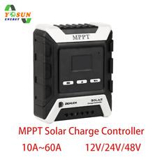 10A-60A MPPT Solar Charge Controller 12V-48V Auto Solarladeregler Wechselrichter
