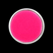 ANDANTE Druckknopf Button CHUNK Fluoreszent Nachtleuchtend Neon Rosa Pink #4256