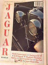 Jaguar World Magazine XJ 40  Upgrade September/October 1992 081717nonrh