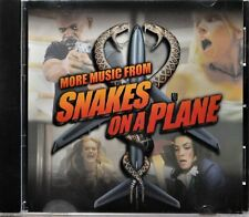 CD More Music from Snakes on a Plane Film Movie Soundtrack Songs Themes CLEAN!