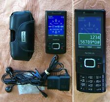Original Nokia 6500 Slide Mobile phone Type RM-240, 3.2MP, 3G, MP3 (steel 6600)