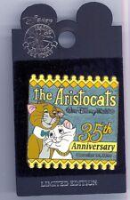 Disney World 35th The Aristocats Thomas O'Malley & Duchess Cats LE Pin & Card