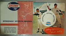 "Frank Bolling & Harvey Kuenn ~ Speedway ""79"" Record w/ Orig jacket (M-) Tigers"