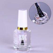 15ml Hardener Vitamin Super Transparent Top Coat Polish Coat Cover Nail Art