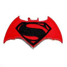 Batman VS Superman DC Hero Comic Cartoon Movie DIY Kid Applique Shirt Iron Patch
