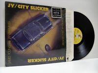 JAMES YOUNG (STYX) & JAN HAMMER city slicker LP EX+/VG+, PB 6051, vinyl, album,
