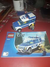 Police Car from Lego City 4440 Forest Police Station with minifigures