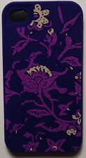 Lucky Brand Print Silicone Bali Batik Case Cover For Apple iPhone 4S / iPhone 4