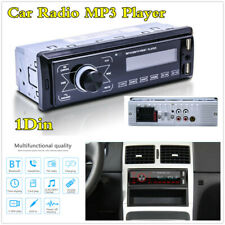 New listing Single 1Din Bluetooth 4.0 Car In-Dash Fm Radio Stereo Usb Aux Audio Mp3 Player