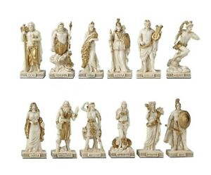 Greek Pantheon The Twelve Olympians Statue Greek Gods Goddesses Zeus Apollo Ares