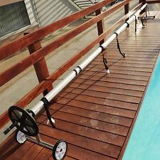 Rullo avvolgitore fusto in alluminio per piscine interrate fino a 5,5 mt