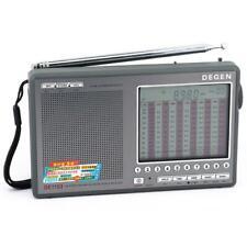 DEGEN DE1103 2.0 Version DSP FM/LW/SW/MW Stereo Dual Conversion World Band Radio
