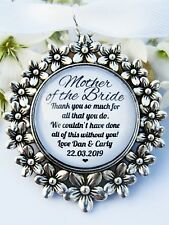 Mother Of The Bride Thank You Bouquet Charm Gift From Bride And Groom Wedding