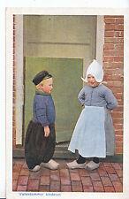 Netherlands Postcard - Holland - Volendammer Kinderen - Childrens Costume  MB748