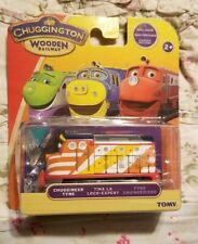 **New** Chuggington Wooden Railway Train Engine Tina La Works With Thomas BRIO