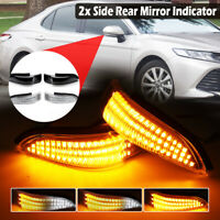 Dynamic LED Side Rear Mirror Repeater Indicator Light  For Toyota Corolla  DY